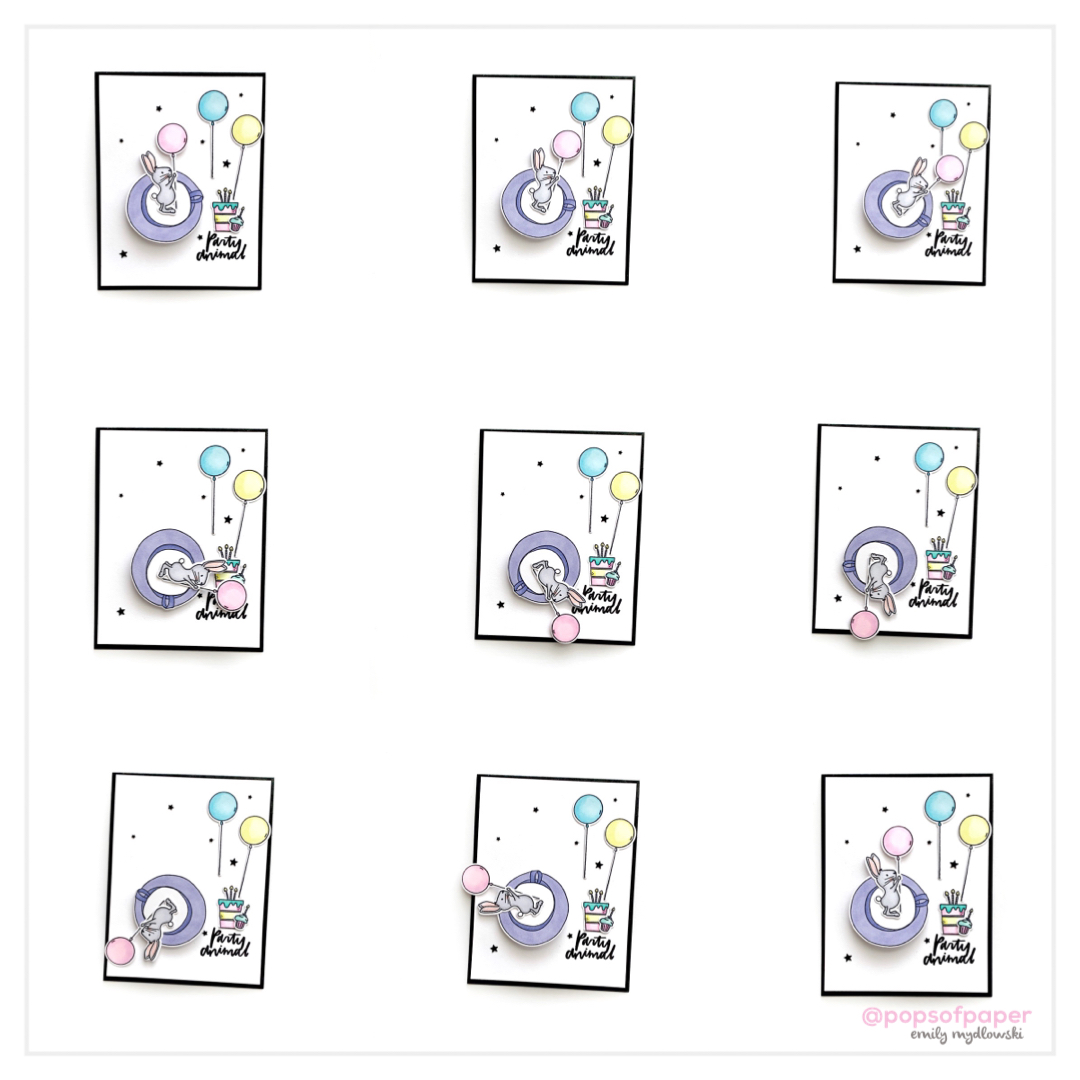 DIY Teacup Spinner Cards with Essentials by Ellen
