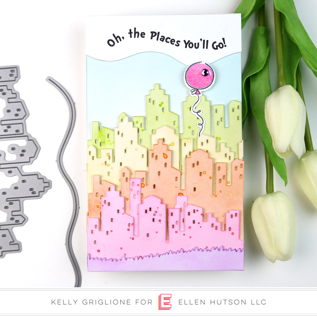 Essentials by Ellen Big City card by Kelly Griglione