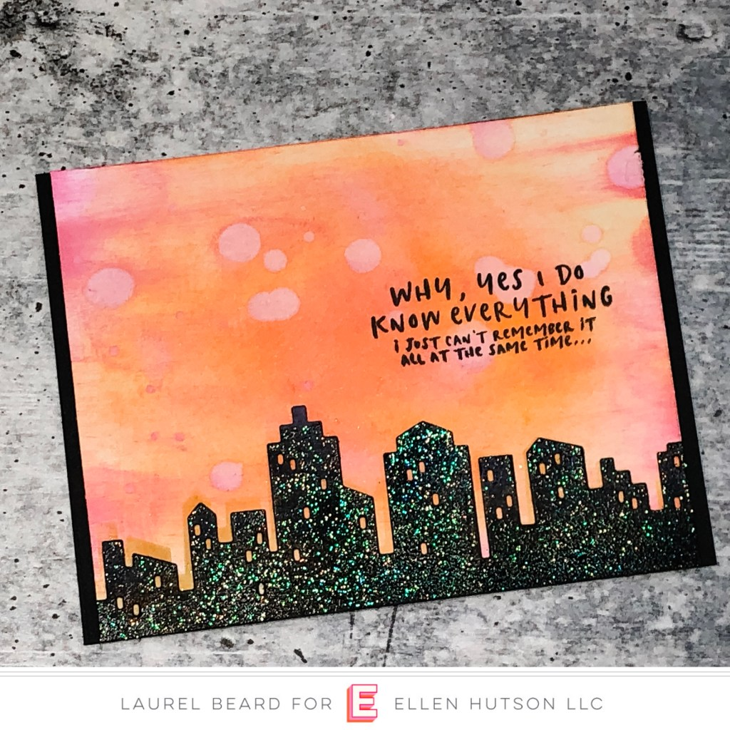 Essentials by Ellen Big City card by Laurel Beard