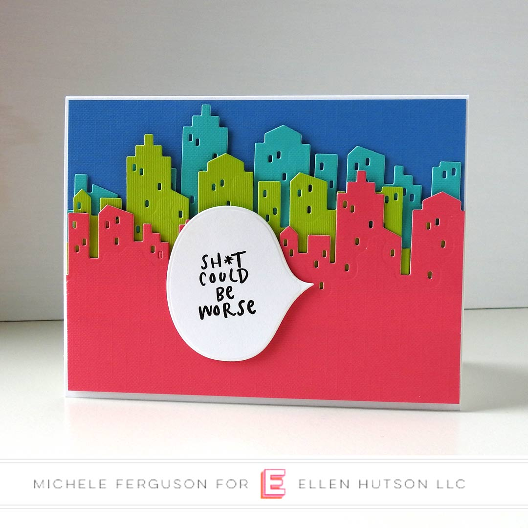 Essentials by Ellen Big City card by Michele Ferguson