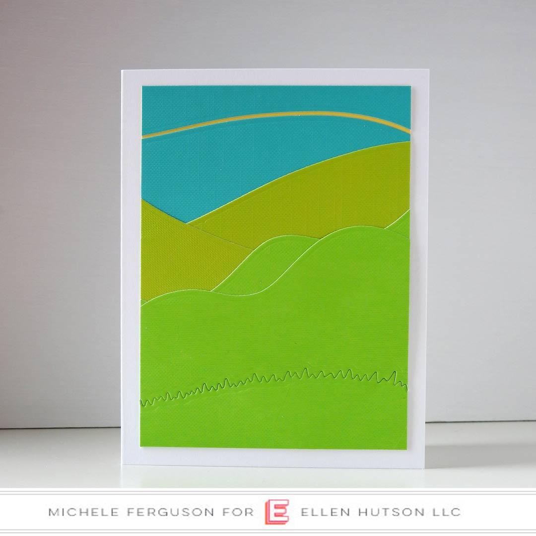 Essentials by Ellen Landscapes card by Michele Ferguson