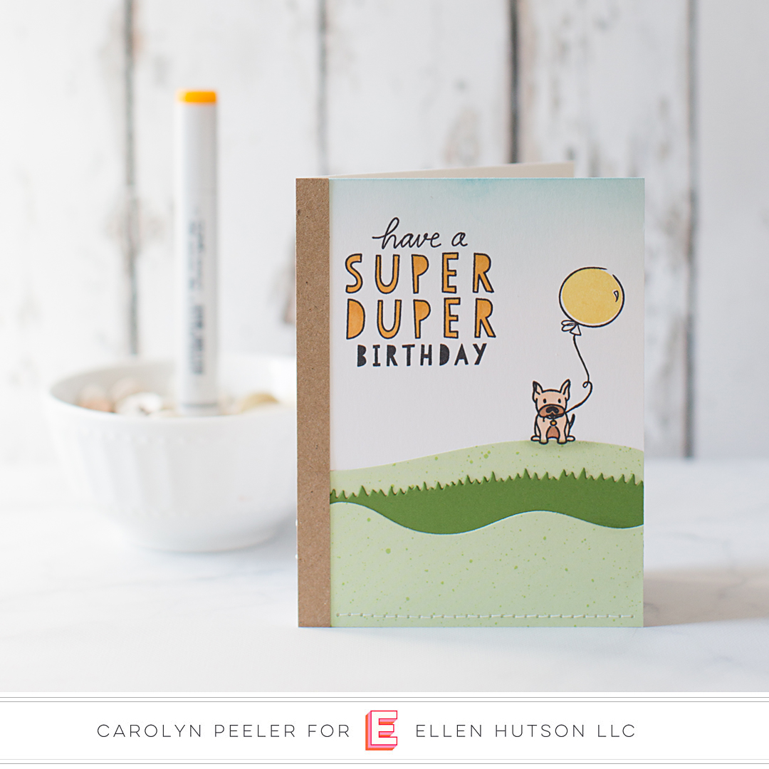 Essentials by Ellen Landscapes card by Carolyn Peeler