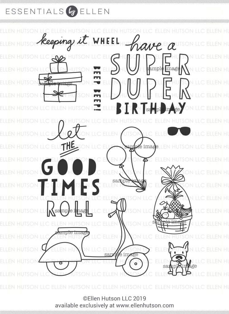 Essentials by Ellen Good Times stamps