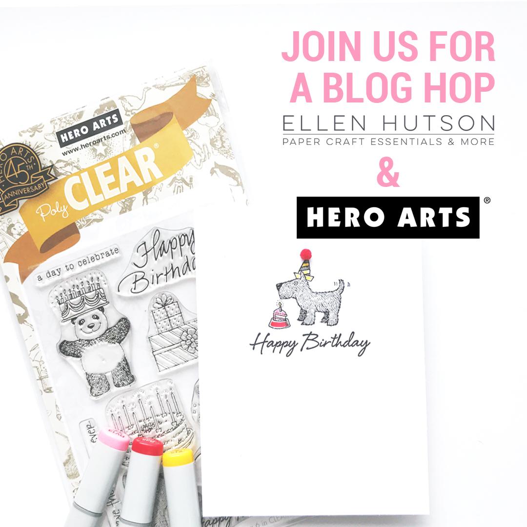 Ellen Hutson & Hero Arts Hop