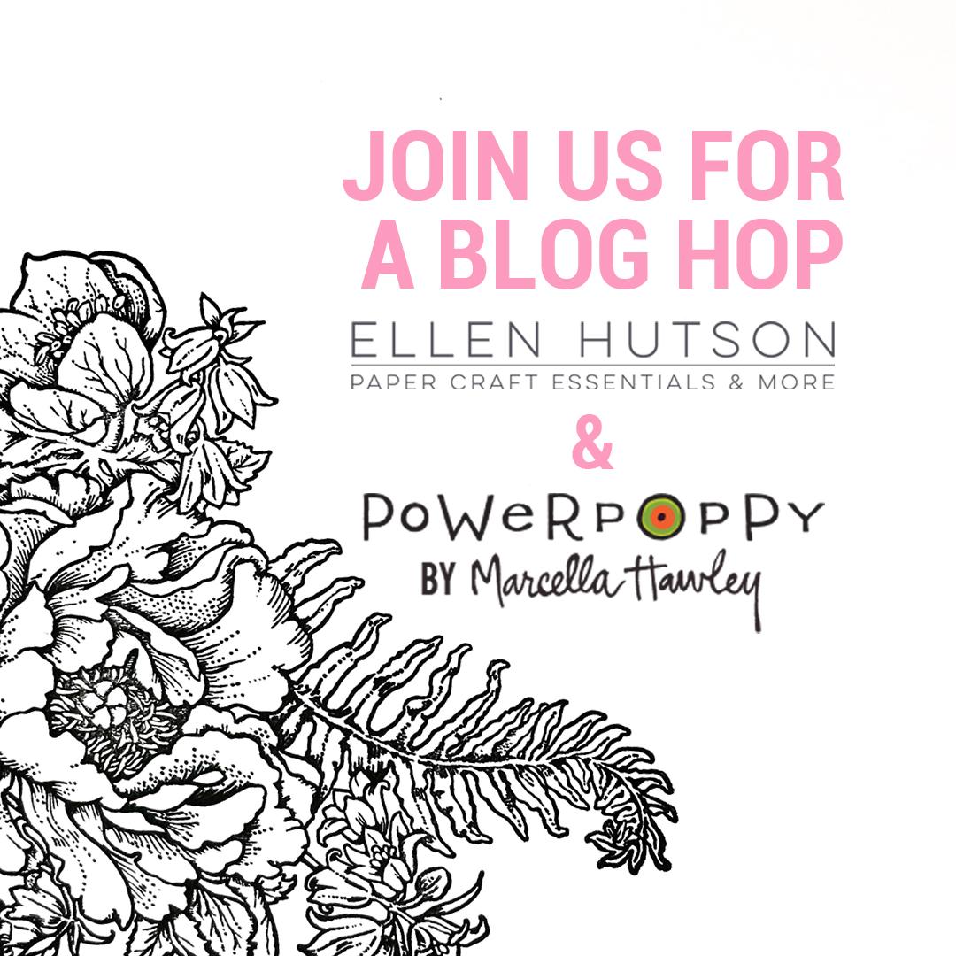 Ellen Hutson and Power Poppy Hop