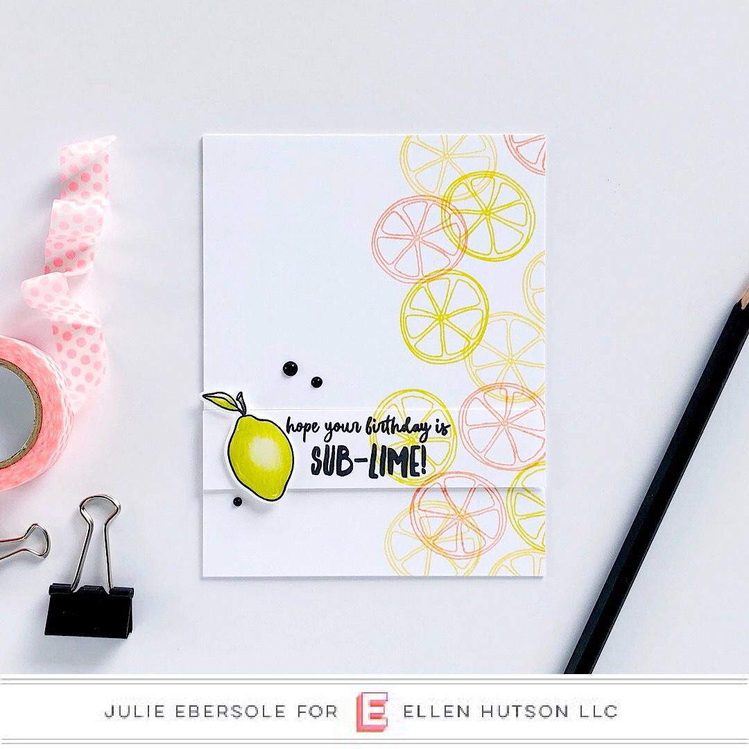 Simple Stamping With Colorful Ink