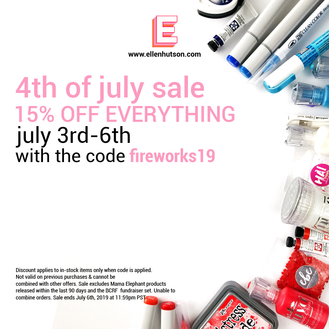 Ellen Hutson LLC 4th Of July Sale