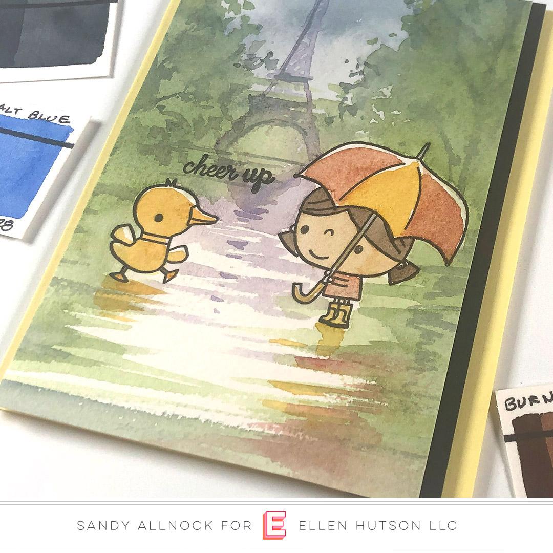 Painting Paris In The Rain with Sandy Allnock