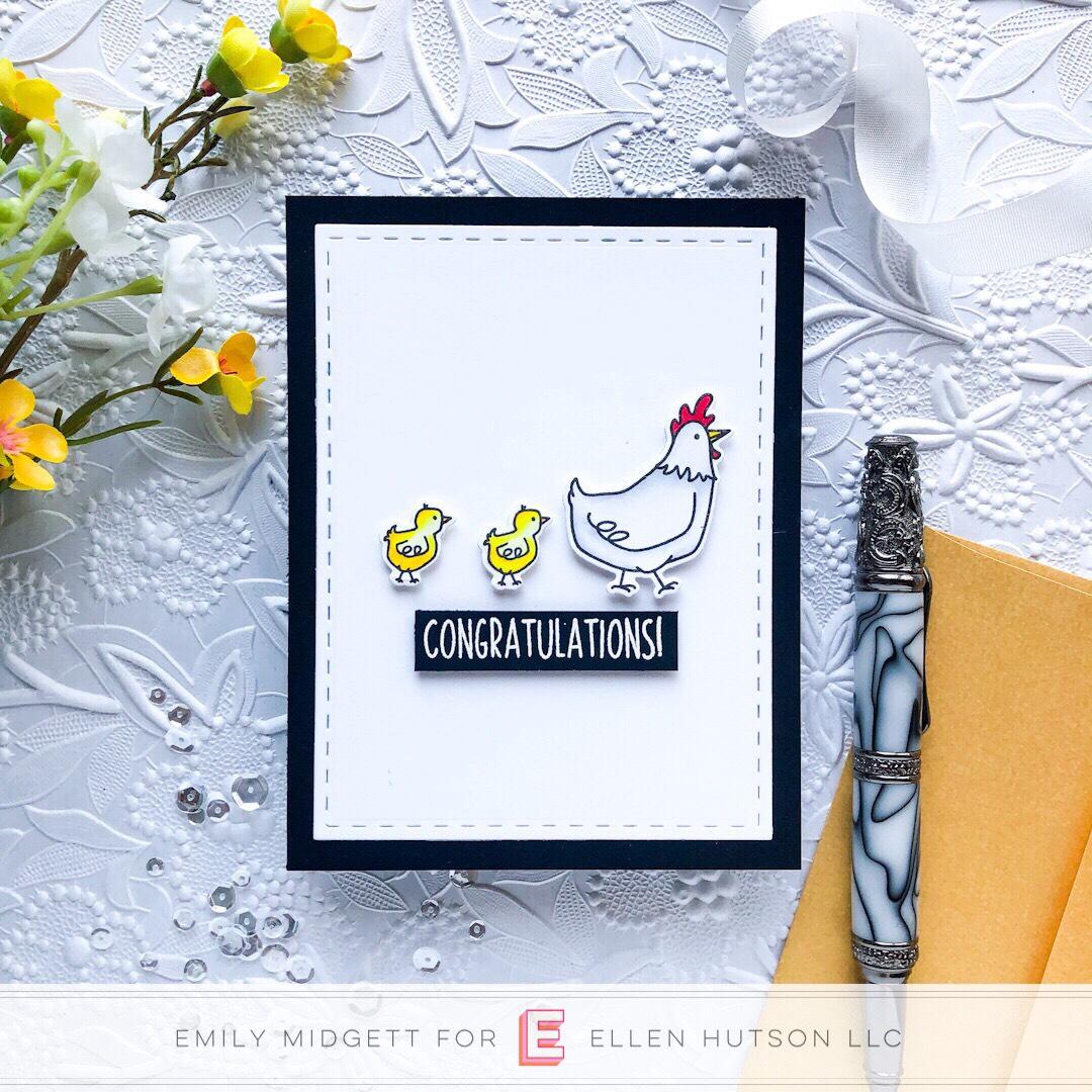 Essentials by Ellen Good Egg card by Emily Midgett