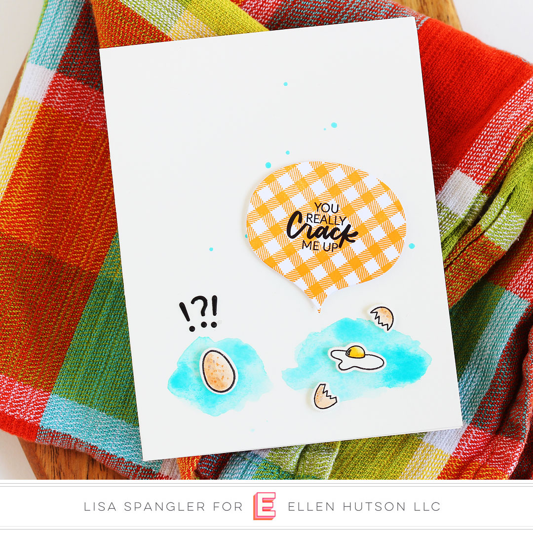 Essentials by Ellen Good Egg card by Lisa Spangler