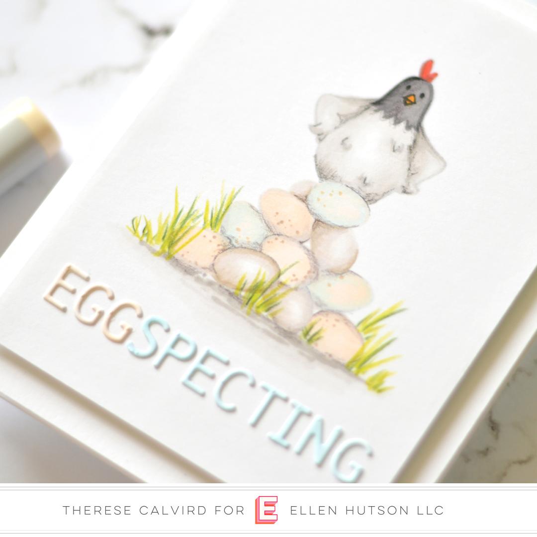Essentials by Ellen Good Egg card by Therese Calvird