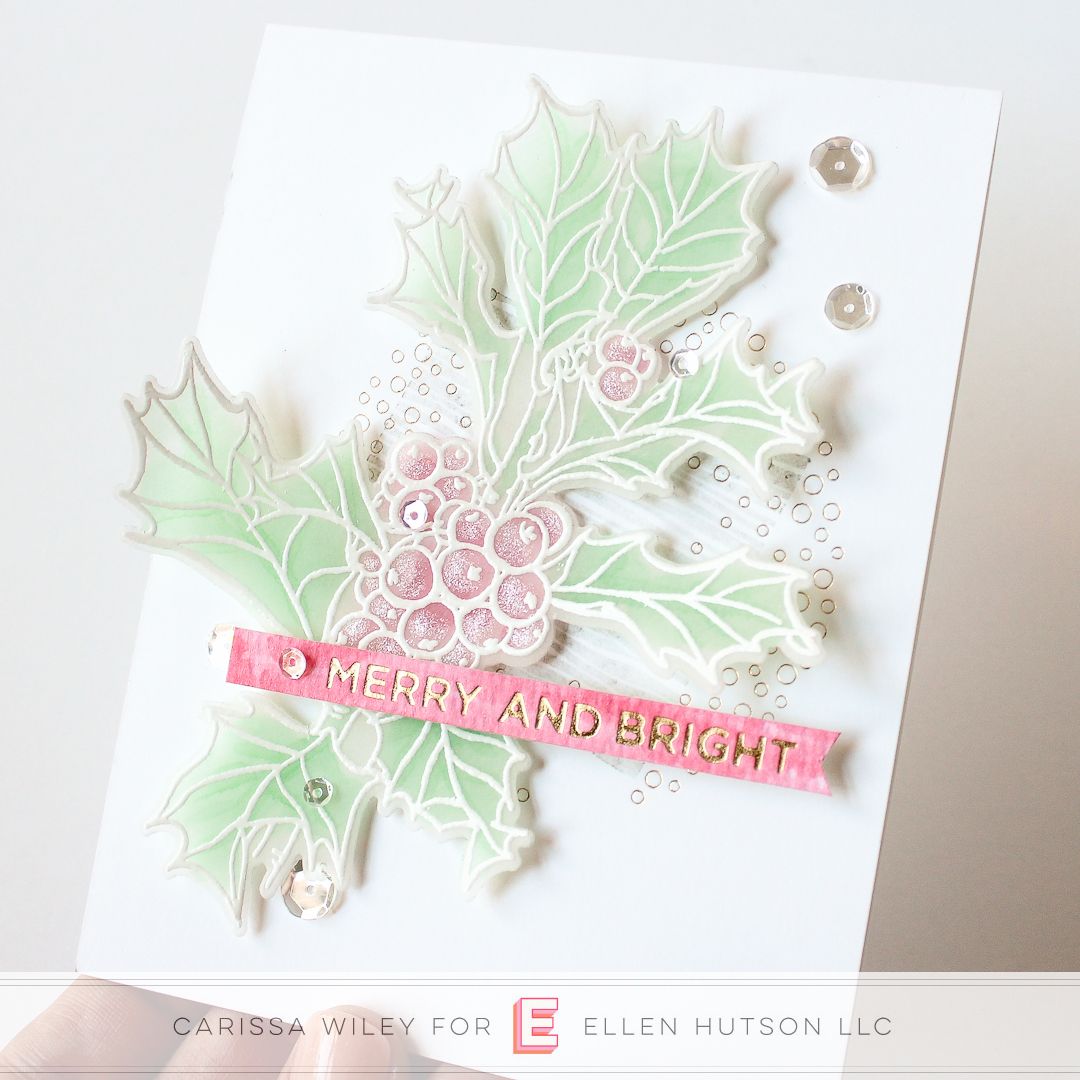 How To Add Foil To Christmas Cards