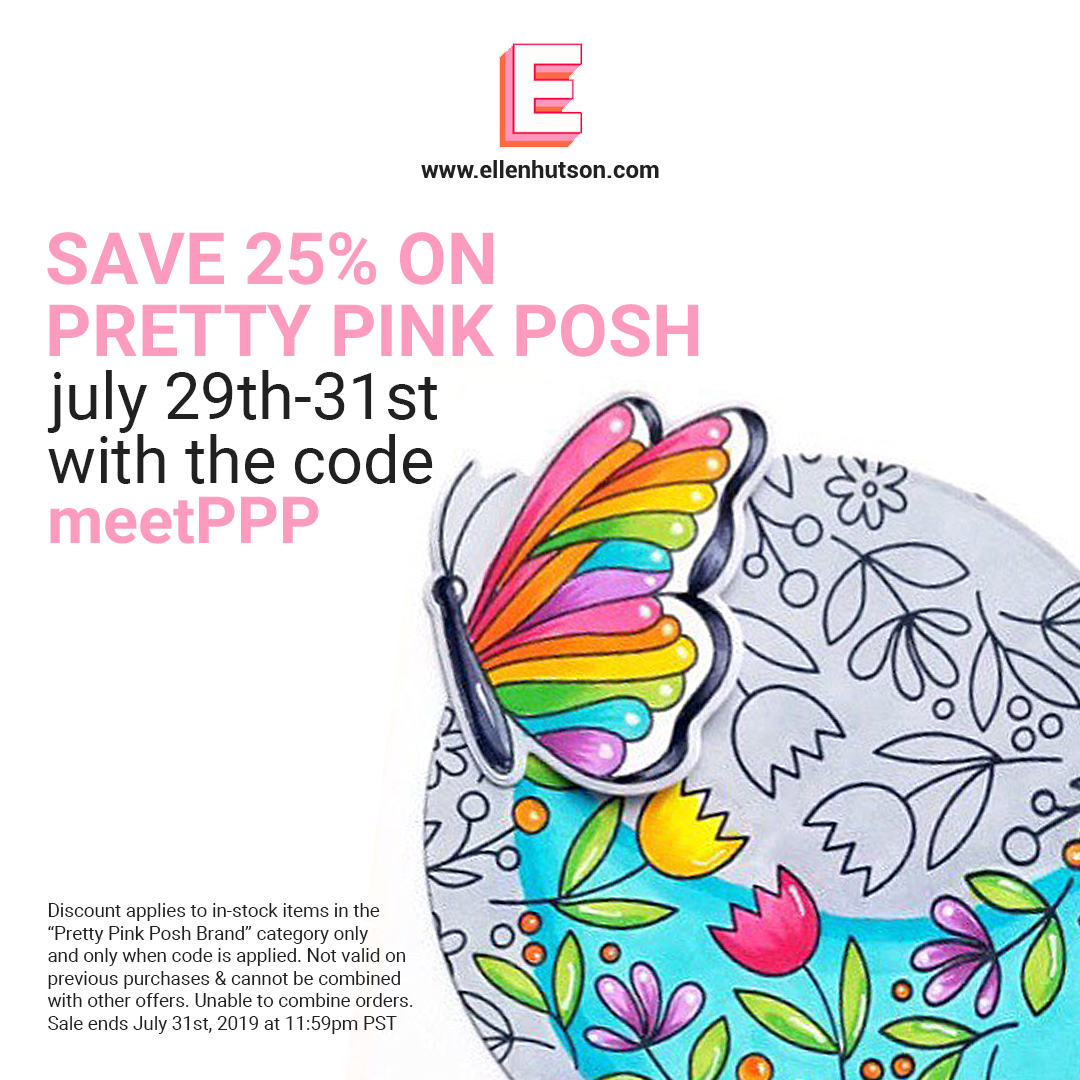Pretty Pink Posh sale at Ellen Hutson LLC