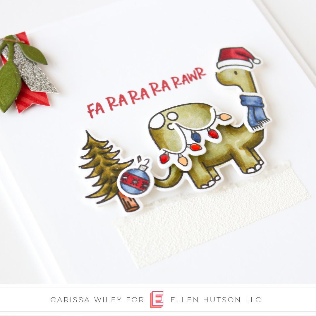 Essentials by Ellen Dinomite Christmas by Carissa Wiley