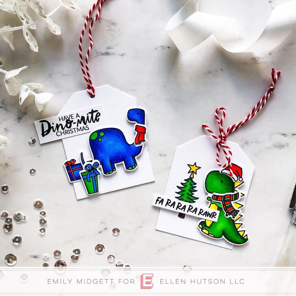 Essentials by Ellen Dinomite Christmas by Emily Midgett