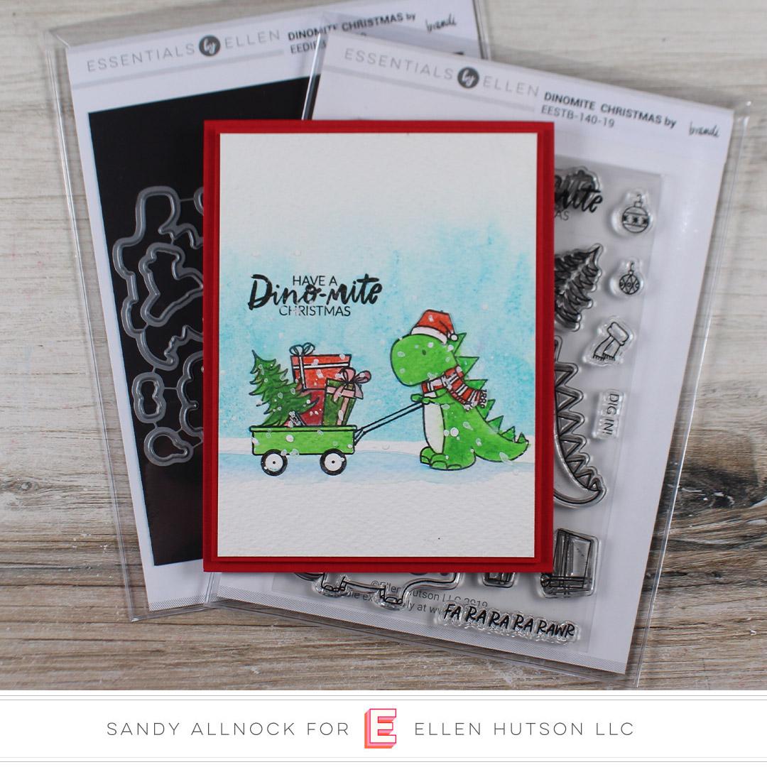Essentials by Ellen Dinomite Christmas by Sandy Allnock