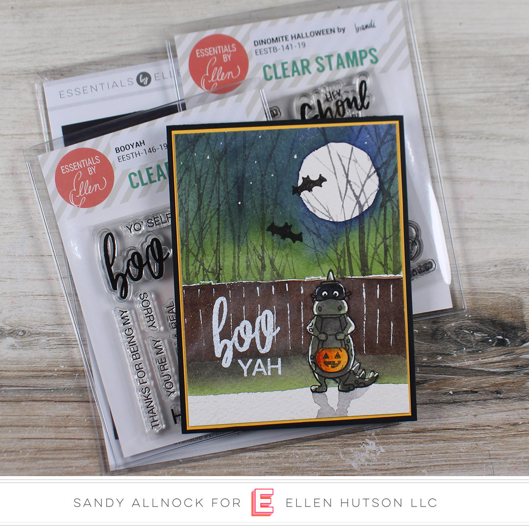 Essentials by Ellen Dinomite Halloween by Sandy Allnock