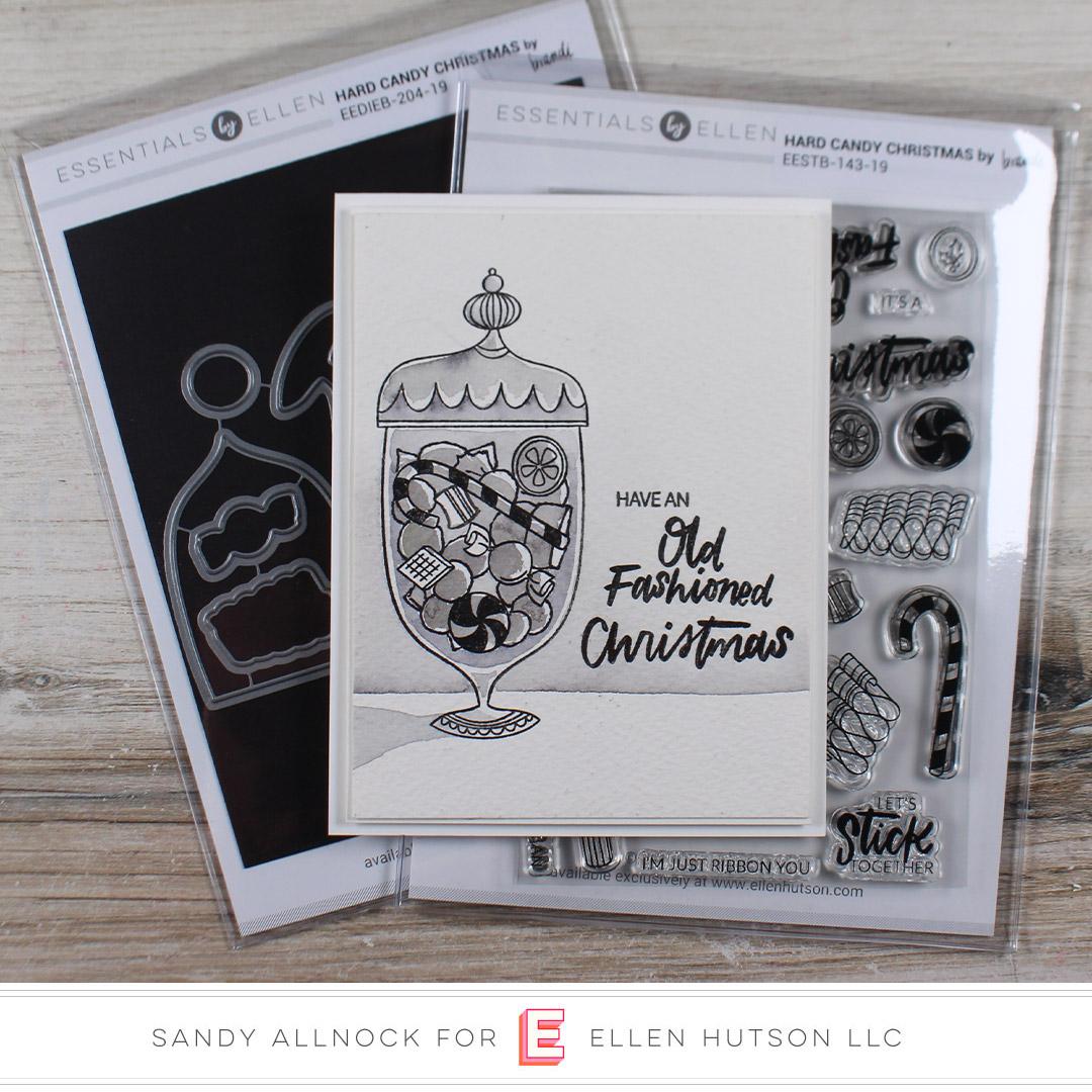 Essentials by Ellen Hard Candy Christmas by Sandy Allnock