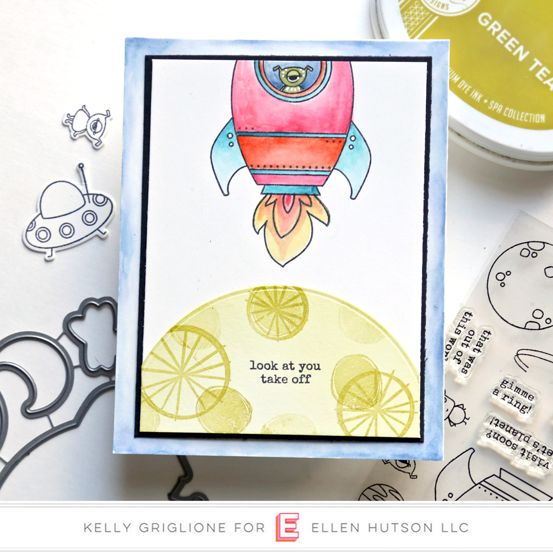 Essentials by Ellen Space Out by Kelly Griglione