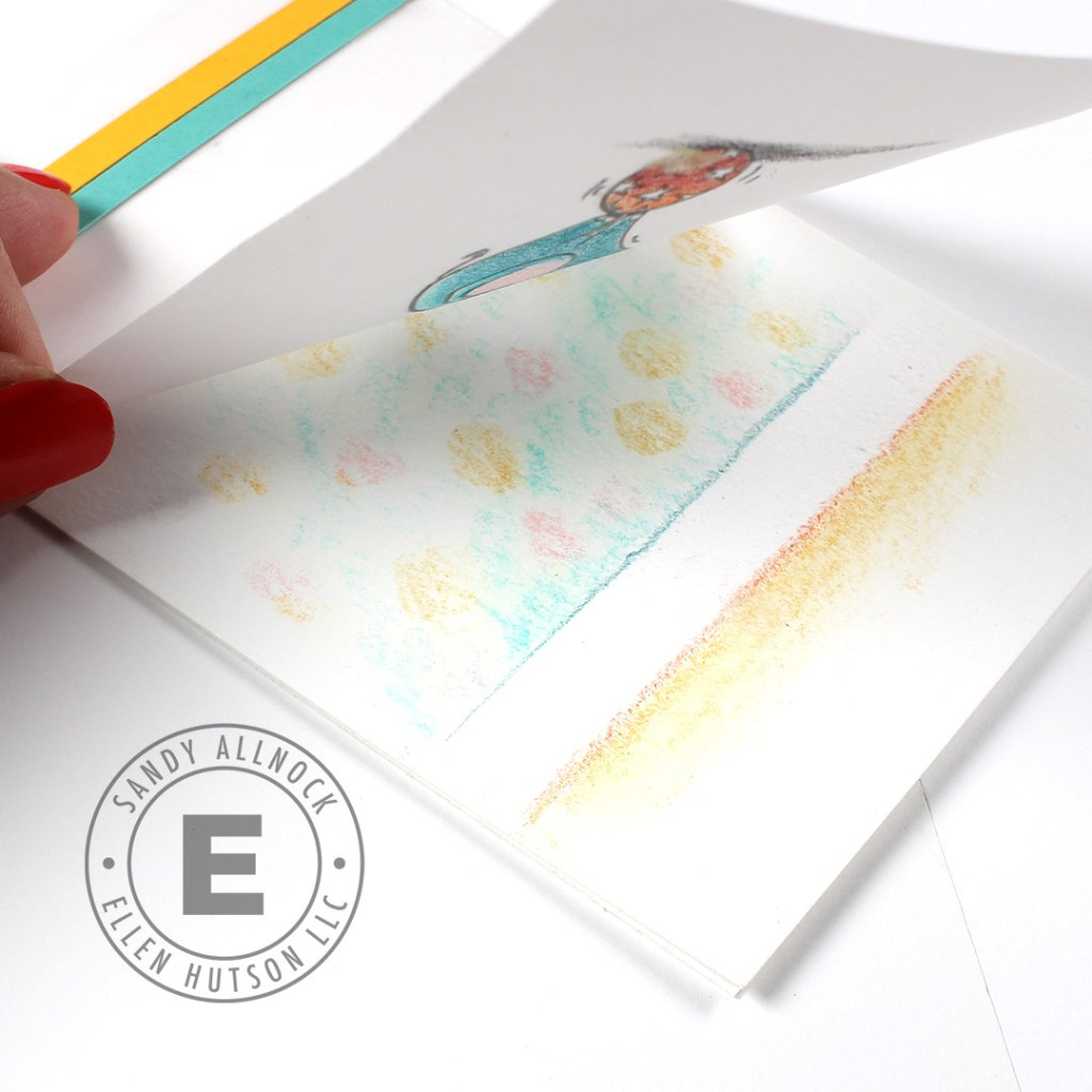 3 Card Ideas Using Colored Pencils