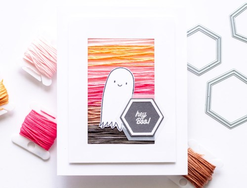 How to Make a Halloween String Art Card for Your Boo