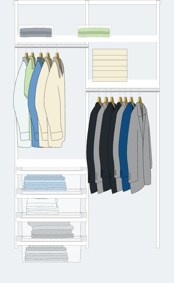 5. También hay diseños para ropa de hombre: