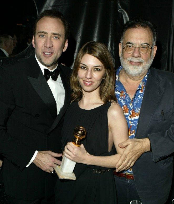 5. Nicolas Cage es sobrino de Francis Ford Coppola y, obviamente, primo de de Sofia Coppola.