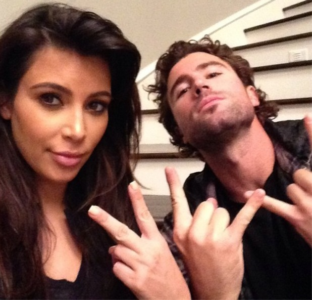 10. Brody de The Hills es hermanastro de Kim Kardashian.