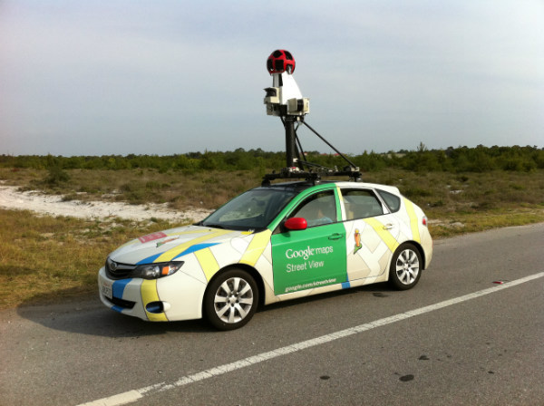 12. Autos de Google Maps sin conductor