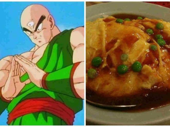 8. Ten Shin Han=tenshindon (un omellete de carne de cangrejo).