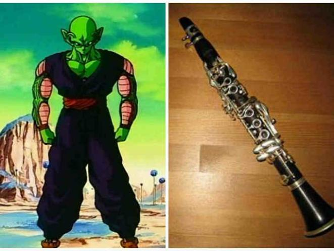 12. Piccolo=piccolo (una variedad de flauta traversa pequeña y aguda).