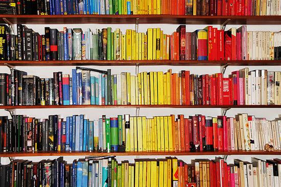 9. La obsesión por el orden y por los colores que a veces llega demasiado lejos.