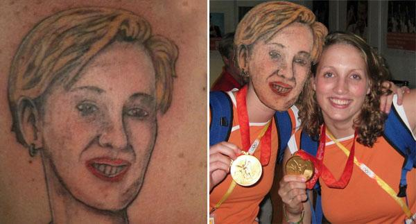 Medalla de oro al mejor tatuaje