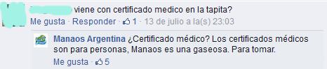 42. Certificado médico