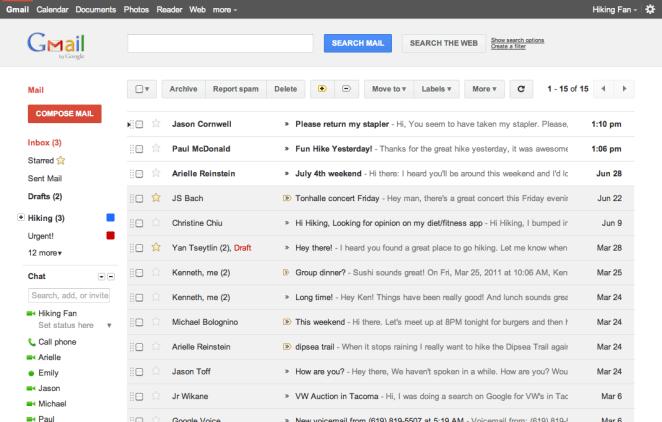 3. Para evitar que te siga entrando spam en la bandeja de entrada, creá filtros con las palabras