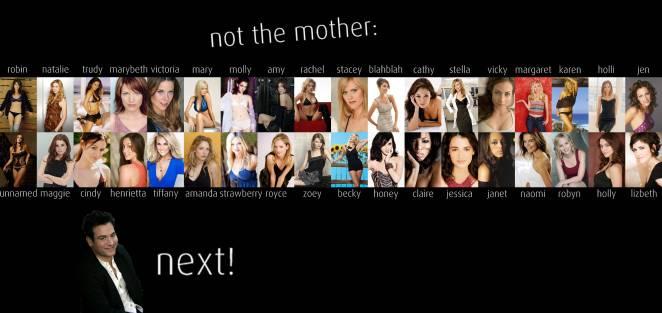 15. Antes de conocer a la madre, Ted sale con 29 chicas