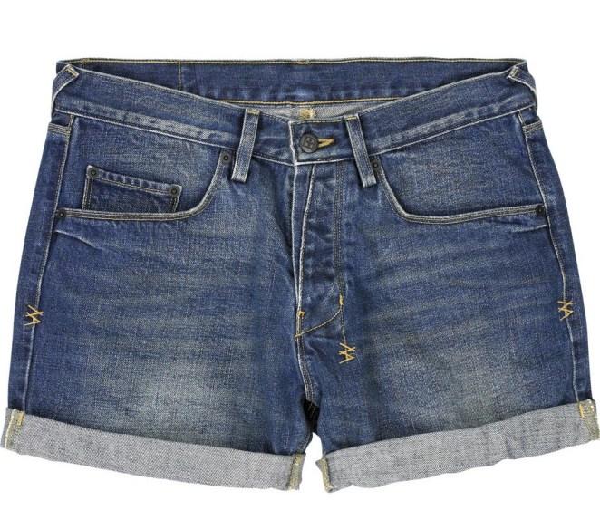 11. Un short de jean: este es gratis, lo podés hacer vos misma cortando un pantalón viejo que ya no uses.