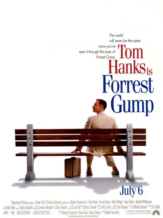 10. Forrest Gump