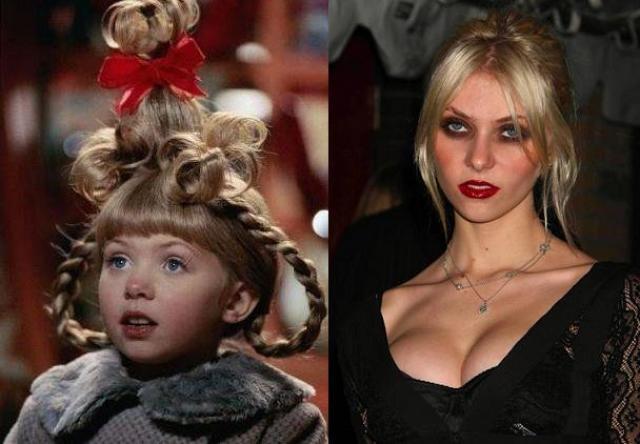 La nena creció...