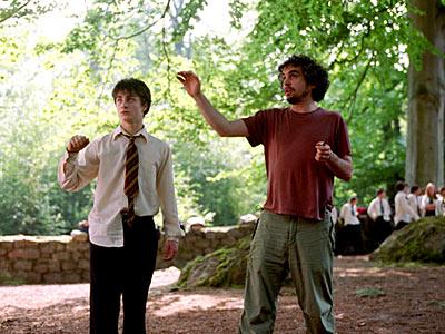 13. La pluma de Buckbeack al final de la película vuela igual que la pluma al final de Forrest Gump.