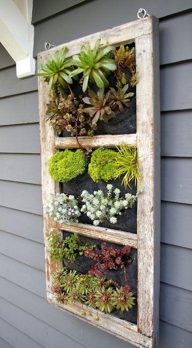 16. Si encontrás o comprás una ventana en desuso podés reutilizarla así: