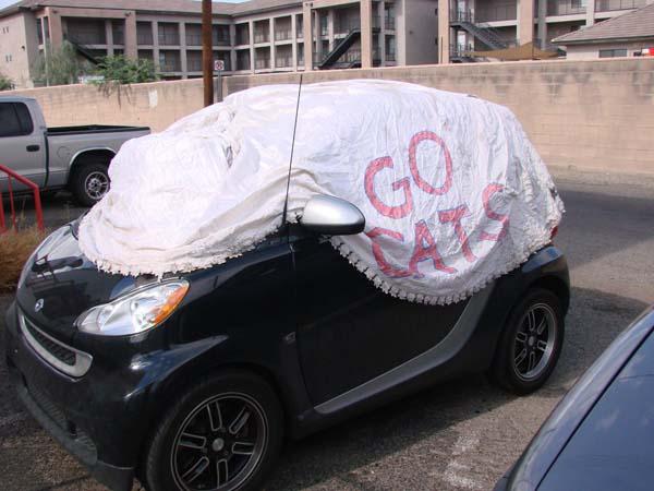8. Como funda para su auto