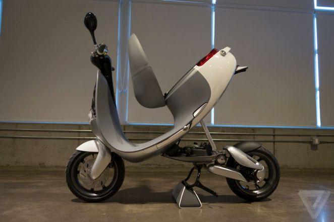 8. Tu motoneta eléctrica con baterías reemplazables.