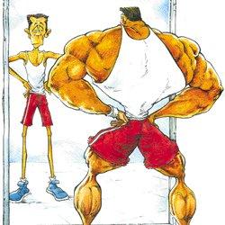 1. Dismorfia muscular o vigorexia
