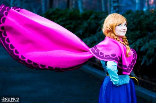 1. Princesa Anna de Frozen