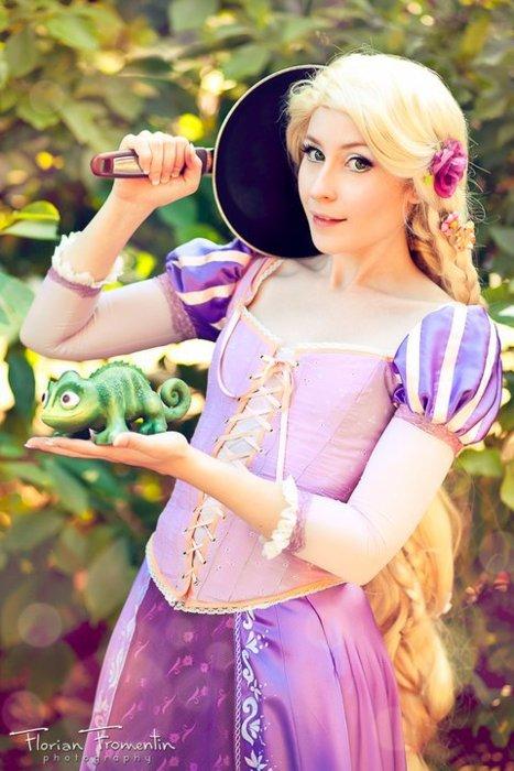 4. Rapunzel de Enredados