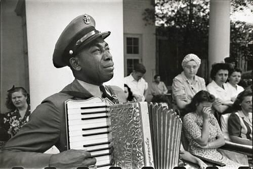 7. Foto del funeral de Franklin D. Roosevelt