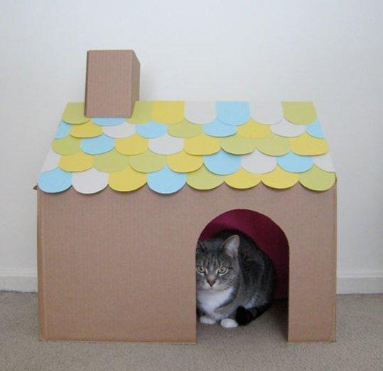 5. Una casa sencilla que podés hacer en un rato libre.