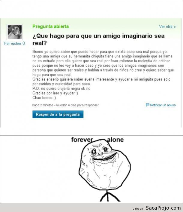 14. Forever alone