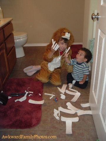 25. Wraaarggh soy el león tampón